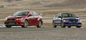 Mitsubishi Lancer Evolution X vs. Evo IX - Comparison - Motor Trend
