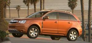 2008 Saturn Vue - Comparison Table - Newcomers - Motor Trend