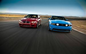 2011 BMW M3 Coupe vs. 2011 Ford Mustang GT Comparison - Motor Trend