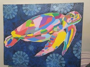 Três quadros do artista Nico Duarte, de Jesus de Nazareth, serão leiloados na web com lance mínimo de R$ 150. Dinheiro vai ajudar a proteger a comunidade contra o novo coronavírus