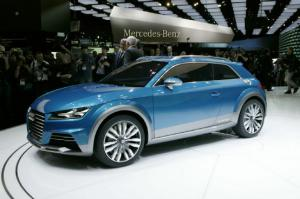 Audi Allroad Shooting Brake Concept First Look - Motor Trend