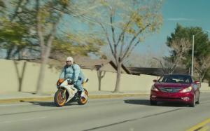 2014 Hyundai Sonata Turbo Stays Up Front in New Super Bowl Ad