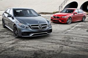 2014 Mercedes-Benz E63 AMG S vs. BMW M5 Competition Pack - Motor Trend