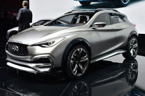 Infiniti QX30 Concept First Look - Motor Trend