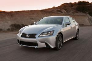 Rear-Drive 2014 Lexus GS 350 Gets Eight-Speed Automatic