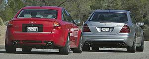 2003 Audi RS6 and Mercedes Benz E55AMG Comparison - Motor Trend