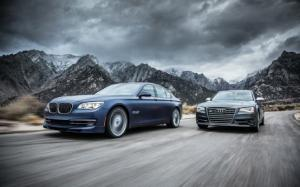 2013 Audi S8 vs. 2013 BMW Alpina B7 - Comparison - Motor Trend
