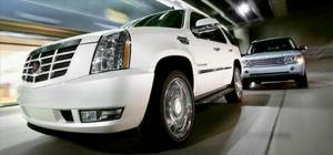 2007 Cadillac Escalade Vs. 2006 Land Rover Range Rover Supercharged - Fullsize Luxury SUV Comparison - Motor Trend