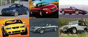 Most Desirable Roadsters, 4-Seat Convertibles and SUVs for Summer 2003 - Motor Trend