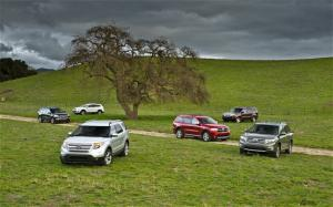 Three Row Crossover SUV Comparison - 2011 Ford Explorer - Motor Trend