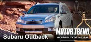 2010 Motor Trend Sport/Utility Of The Year: 2010 Subaru Outback Engine - Motor Trend