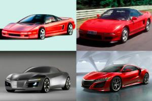 Acura NSX Concept in 2012 - Acura NSX Through the Years
