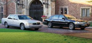 Cadillac Deville Concours Vs. Lincoln Town Car Touring Sedan - Motor Trend Magazine