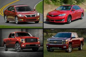 Top 20 Best-Selling Vehicles of 2014, Quarter One - Motor Trend