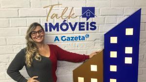 O encontro virtual contou com a apresentação da editora de Imóveis & Cia de A Gazeta, Tatiana Paysan