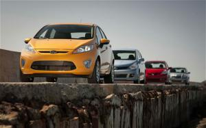 2011 Ford Fiesta SES vs 2010 Honda Fit Sport vs 2010 Toyota Yaris vs 2010 Nissan Versa 1.8 SL Comparison - Motor Trend