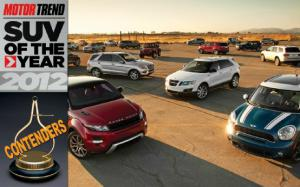 2012 Motor Trend SUV of the Year Contenders - Motor Trend