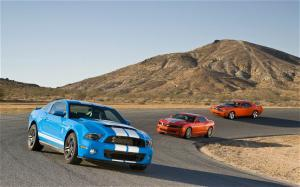 2009 Dodge Challenger SRT8 vs 2010 Hennessey Camaro HPE550 vs. 2010 Ford Shelby Mustang GT500 Wallpaper Gallery - Motor Trend