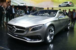 Mercedes-Benz S-Class Coupe Concept Might as Well Be a Drop-Top