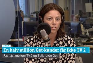 NRK og TV 2 sliter med å få Telia i debattstudio – telegiganten har takket nei flere ganger