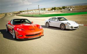 2011 Chevrolet Corvette ZR1 vs. 2010 Porsche 911 Turbo Comparison - Motor Trend
