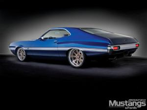 1972 ford gran torino modified mustangs fords magazine - Ford Gran Torino Fastback