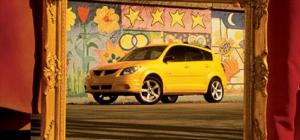 2003 Pontiac Vibe - Package - Motor Trend Magazine