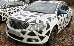 New Buick Compact Sedan spied in Germany - Motor Trend