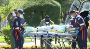 Criança se feriu em fogão à lenha em Marechal Floriano, na Região Serrana do Espírito Santo. Ela foi transferida para o Hospital Infantil de Vitória nesta quarta-feira