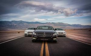 2013 Audi S7 vs. 2013 BMW 650i Gran Coupe xDrive vs. 2013 Mercedes-Benz CLS550 4Matic - Comparison - Motor Trend