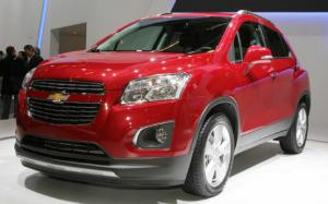 2012 Paris: Chevrolet Trax Subcompact Crossover Debuts with Global Aspirations