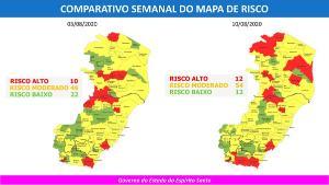 Cinco cidades também passaram ao risco alto de transmissão da doença no intervalo de uma semana, segundo o governo