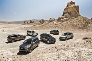 Efficiency and Safety - The Big Test: 2014 Three-Row Crossovers