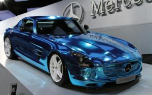 2012 Paris: Mercedes-Benz SLS AMG Electric Drive is Most Powerful AMG Ever