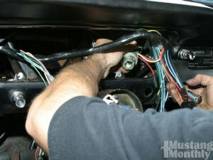 1965 1968 ford mustang wiring system upgrades mustang monthly how to install a new wiring harness for your ford mustang mustang monthly magazine