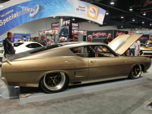 1969 ford torino talladega gpt special grabs mothers shine award at sema 2013 modified mustangs fords - Ford Torino King Cobra