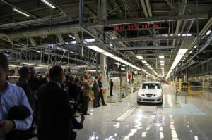 Resurrected! First Saab 9-3 Test Cars Leave Assembly Line