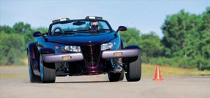 Plymouth Prowler - The Prowler Meets Its Match - Exclusive Test - American Car - Comparisons - Motor Trend Magazine