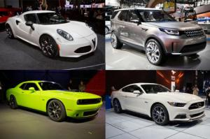 Ford Mustang, Dodge Challenger - Top Cars of 2014 New York Auto Show