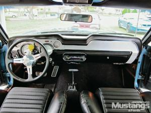 ford mustang interior dashboard upgrades modified mustangs fords magazine - 1969 Ford Mustang Fastback Interior