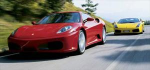 Ferrari F430 Vs. Lamborghini Gallardo - Exotic Coupe Comparison - Road Test Review - Motor Trend