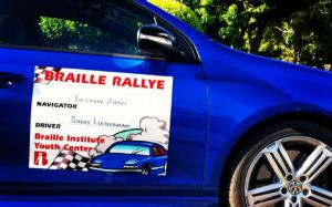 Braille Rallye: The Blind Leading the Humbled