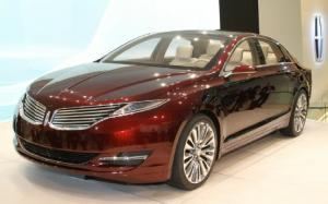 Lincoln MKZ Concept First Look - Motor Trend