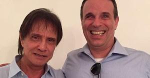 Dudu Braga, de 51 anos, iniciou novo processo de quimioterapia no Albert Einsten, em São Paulo