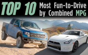 Top 10 Most Fun-to-Drive Vehicles by Combined MPG - Motor Trend