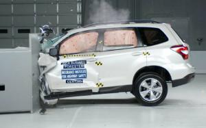 2014 Subaru Forester, 2013 Mitsubishi Outlander Sport Get Top Safety Pick+ Rating