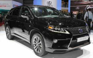 2013 Lexus RX 350 and RX 450h First Look - 2012 Geneva Motor Show - Motor Trend