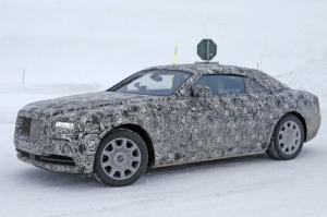 Spied: Rolls-Royce Wraith Drophead Coupe Caught Winter Testing