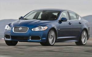 2010 Jaguar XFR Handling and Comparison with the BMW M5 - Motor Trend