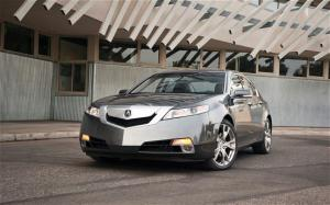 2009 Acura TL SH-AWD Engine and Suspension - Motor Trend